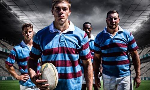 Sanrad Sports Botão Rugby